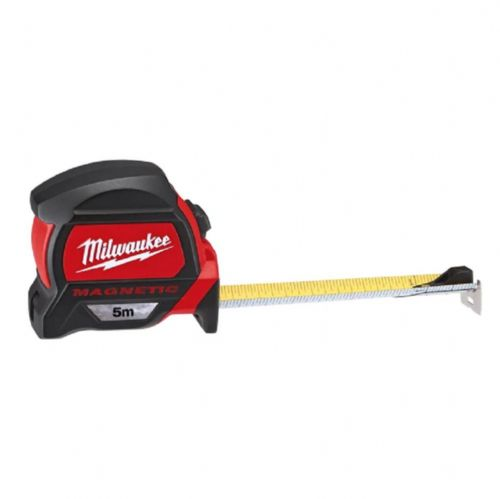 Milwaukee 48227305 Premium Magnetic Tape Measure Metric Only 5m (Width 27mm)